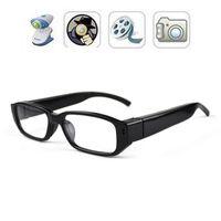 video sunglasses - 32GB HD P Spy Hidden glasses Camera Micro Pinhole Camera Mini sunglasses DVR Eyewear camera video recoder portable security camcorders