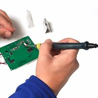 Wholesale New Hot V8W Mini Portable USB Electric Powered Soldering Iron Pen Tip Touch Switc V DC W