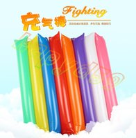 Wholesale Inflatable Cheer Sticks cheerleaders Inflatable Stick Against Cheering Sticks Noise Maker ballon dance concert party Supplies