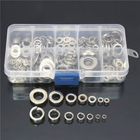 Wholesale 260Pcs Stainless Steel Washer Spring Pad Assortment Set M2 M10