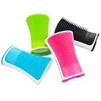 Wholesale Water Wizard hair comb massage ESD anti slip waterproof smooth hair shampoo cleanses the scalp hair grooming brush head massage bath shampoo