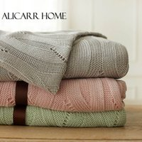bedspread cotton thread - Size X180CM Bed Blankets Bedspread Plush Bamboo Throw Soft Cozy Blanket Air Condition Blanket