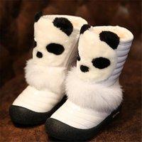 bear boots sale - children s boots hot sale new fashion cartoon bear snow boots girls plus cotton Comfort boots good quality cute Warm Half cotton boots HD184