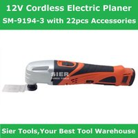Wholesale 12V Power Tools V Cordless Electric Planer SM with Accessoriese Sier Universal Wood Router CE GS renovator saw Grinder