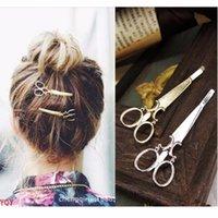 ali jewelry - T405 New Ali Bijoux Tiara Bridal Hairwear Scissors Hairpins hair band Headbands for Women Wedding Hair Jewelry Accessories