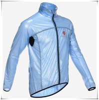 Wholesale Cycling Windcoat Rain Jacket Waterproof Hoody Ultra light Jersey Outdoor Sport MTB Hiking Camping Bike Bicycle Cycling Raincoat