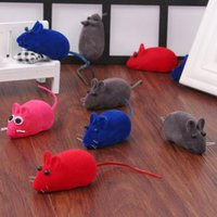 baby pet mice - Pet cat dog toy mouse with noice pet taining toy Pet Toys baby kids Christmas gift toy Hallowmas mice animal toys