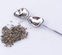 Wholesale Stainless Teaspoons Heart Shape - DHL 200 pcs lotHot sale Love Heart Shape Style Stainless Steel Tea Infuser Teaspoon Strainer Spoon