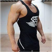 Wholesale years The gym vest men stringer loa bodybuilding muscle sport shirt vest cotton sweatshirt Body Engineers brand