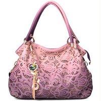 bb designer - Brand designer handbag female PU leather hollow out bags handbags color gradient tassel bag ladies portable shoulder bag BB