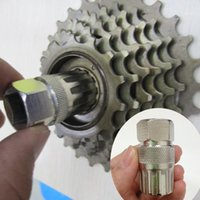 Wholesale Bicycle Cassette Flywheel Freewheel Lockring Remover Removal Repair Tool Disassemble Socket For Mountain Bike