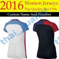 abby wambach shirt - New United States Women Soccer Jersey AlEX MORGAN LLOYD Female Camisas Abby WAMBACH Black Football Shirts Best Quality