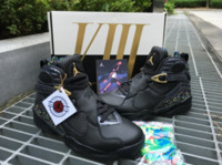 air jordans mens - Original Quality Air Jordan Retro Confetti VIII Cigar C C Pack Jordans Shoes Sneakers Mens Basketball Shoes With Original Box