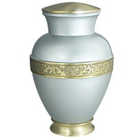 Wholesale Cremation Urn Funeral Urn Brass Hand Engraved Display Urn at Home or in Niche at Columbarium Elsene golden ADULT URNS