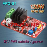Wholesale APO S1 DC brush motor PWM controller RC speed controller W MAX V V