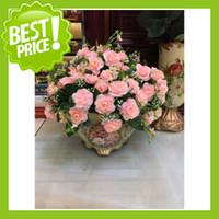 Wholesale Artificial Rose Spring Silk Flowers Flower Heads Camellia Magnolia Floral Wedding Peony Bouquet Décor Bride Bouquet