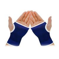 Wholesale Palm Wrist Hand Support Glove Elastic Brace Sleeve Sports Bandage Gym Wrap H210669