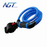 bicycle wire rope - 5 Colors High Quality Lenght cm Steel Wire Rope Bicycle Lock Bike Lock Cable For Mountain Bike