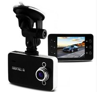 Wholesale K6000 Car DVR Camera Mega Novatek Dash Cam Auto Video Recorder Full HD P Dual LED Night Vision Video Registrator Car logger