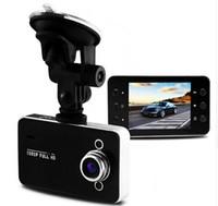 auto logger - K6000 Car DVR Camera Mega Novatek Dash Cam Auto Video Recorder Full HD P Dual LED Night Vision Video Registrator Car logger