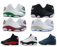 achat en gros de chaud hommes chaussures de basket-ball-véritables baskets Hot vente pas cher chaussures d'origine Qualité NEW Air Retro 13 13s hommes de basket-ball de qualité d'origine US 8-13 livraison gratuite