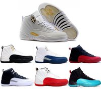 Wholesale 2016 air retro man basketball shoes Playoff taxi ovo white cherry red Flu game French Blue The master Barons Gym Red sneakers