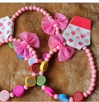 Wholesale 2015 new Lovely pet DIY jewelry dog cat bowknot pearl necklace