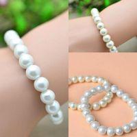 Wholesale 2016 New Cheapest Pearls Wedding Bracelets Elegant Fashion Simple Wedding Jewelry Elegant Boho Bracelets Only SD0003