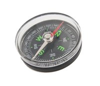 Wholesale Pocket Survival Liquid Filled Button Design Compass Derection for Climbing Hiking Camping Outdoor MM free ship