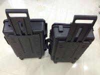 Wholesale high quality trolley case Impact resistant sealed waterproof safety case security tool equipment tool case with pre cut foam