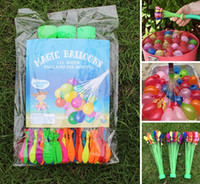 Wholesale 3 Bunches Per Magic Water Balloons Bunch Balloons Fill Water Balloons Per Minute Summer Water Game Toys