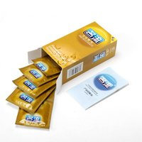 Wholesale 10 Hot Sale Quality Sex Products Box Of Natural Latex Condoms For Men Adult Better Sex Toys Safer Contraception