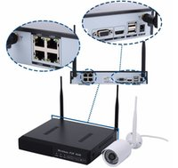 Wholesale hot selling ch wireless camera h Megapixels p2p ip nvr kits