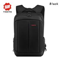Wholesale DHL Fedex Laptop Bag for Men Women Computer Bag Tigernu Anti Thief Waterproof Nylon Roomy Slim Laptop Notebook backpack