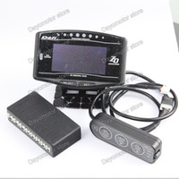 Wholesale STORE DF Defi Link Advance ZD Display Meter in Digital volt water temp oil temp oil pressrpm speed egt meter turbo boost gauge