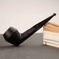 Authentic Royaume-Uni Dunhill ronce importé tuyau cigarette support tabac shell seau ronce tuyau Bruyere tabac DHL gratuit