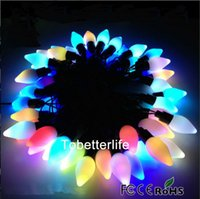 ball joint ends - 5M RGB Mango Modelings String Lights leds Christmas Decoration fairy eave decoration V EU plug W set without end joint and controller