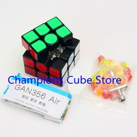 air gan - Newest Hot Sale GAN Air x3x3 Magic Cube Puzzle x3 Speed Cube competition Twisty Puzzle Educational Toys Cubo Magico