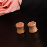Wholesale Hot Sale Fashion personality punk accessories New Wood Body Jewelry Concave Fashion Piercing Plug Enlarge the ear device Taper