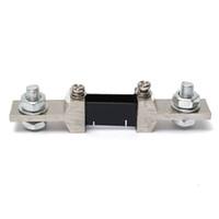 ammeter shunt resistor - New A mV DC Analog Current Meter Divider Shunt Resistor Current Shunt for Amp Meter Ammeter Electrical Instruments Electral