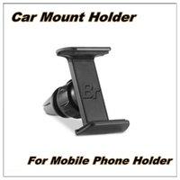 achat en gros de vent mount gps-Support universel de support de téléphone de voiture pour iphone 6s plus support de support d'air de voiture de 360 degrés pour huawei P8 lite support GPS DVR