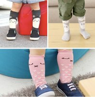 animals design warmers - 10Style Toddler New Totoro Design Knee High Baby Socks Girls Boys Fall Winter Leg Warmers D Fox Socks Knee Pad Cartoon Animal Socks
