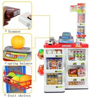 baby gift set ideas - ift ideas for girlfriend learning education toy supermarket red cash register cart set classic toys pretend play house baby Birthday gift