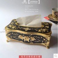 antique toilet seats - luxury antique carved metal tissue box tissue box holder napkin holder tissue holder toilet paper roll for home decor ZJH014