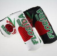 Wholesale brand The Newest style fruit golf headcover colors pu leather golf headcover sale top quality club headcover
