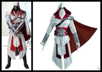 assassin play - classic game quot Assassin s Creed quot role playing costumes Assassin s Crew Artest Clothing Halloween Cosplay Men s