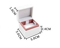 Wholesale NEW brand jewelry box charm box beads box earring Box ring box cm high quality box with logo