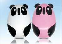 Wholesale Lovely Panda USB wireless mouse G wireless rechargeable mouse built in lithium rechargeable GHz USB Optical Wireless panda Mouse