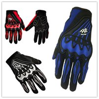 Wholesale New pattern Motorcycle ATV Quad Frenzy Cool motorcycle Anti Fall All Refers gloves