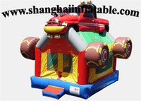 backyard products - hot product PVC inflatable car bounce house with high quality